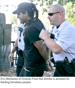 Arrested for Feeding the Poor