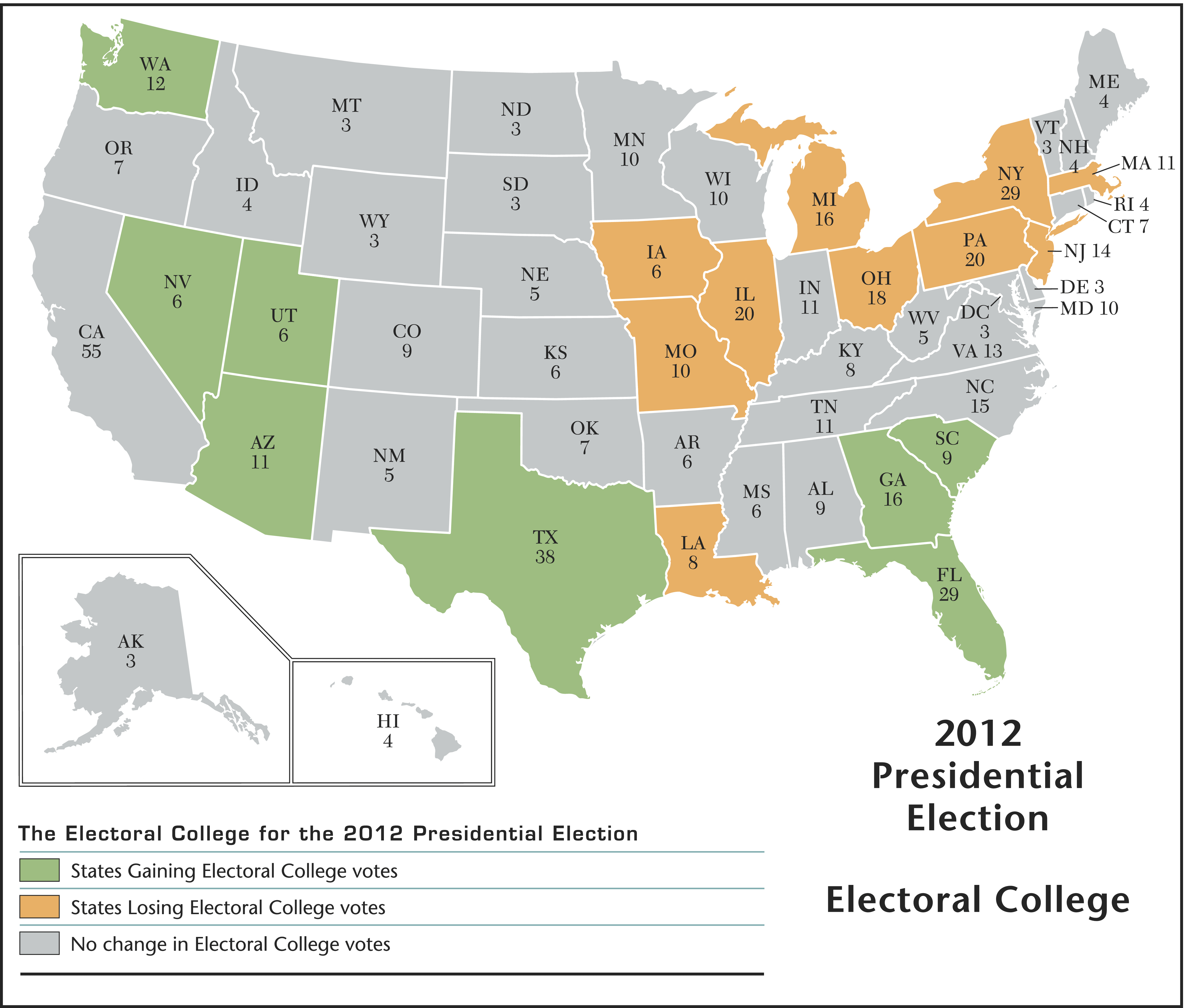 Total Votes In Electoral College