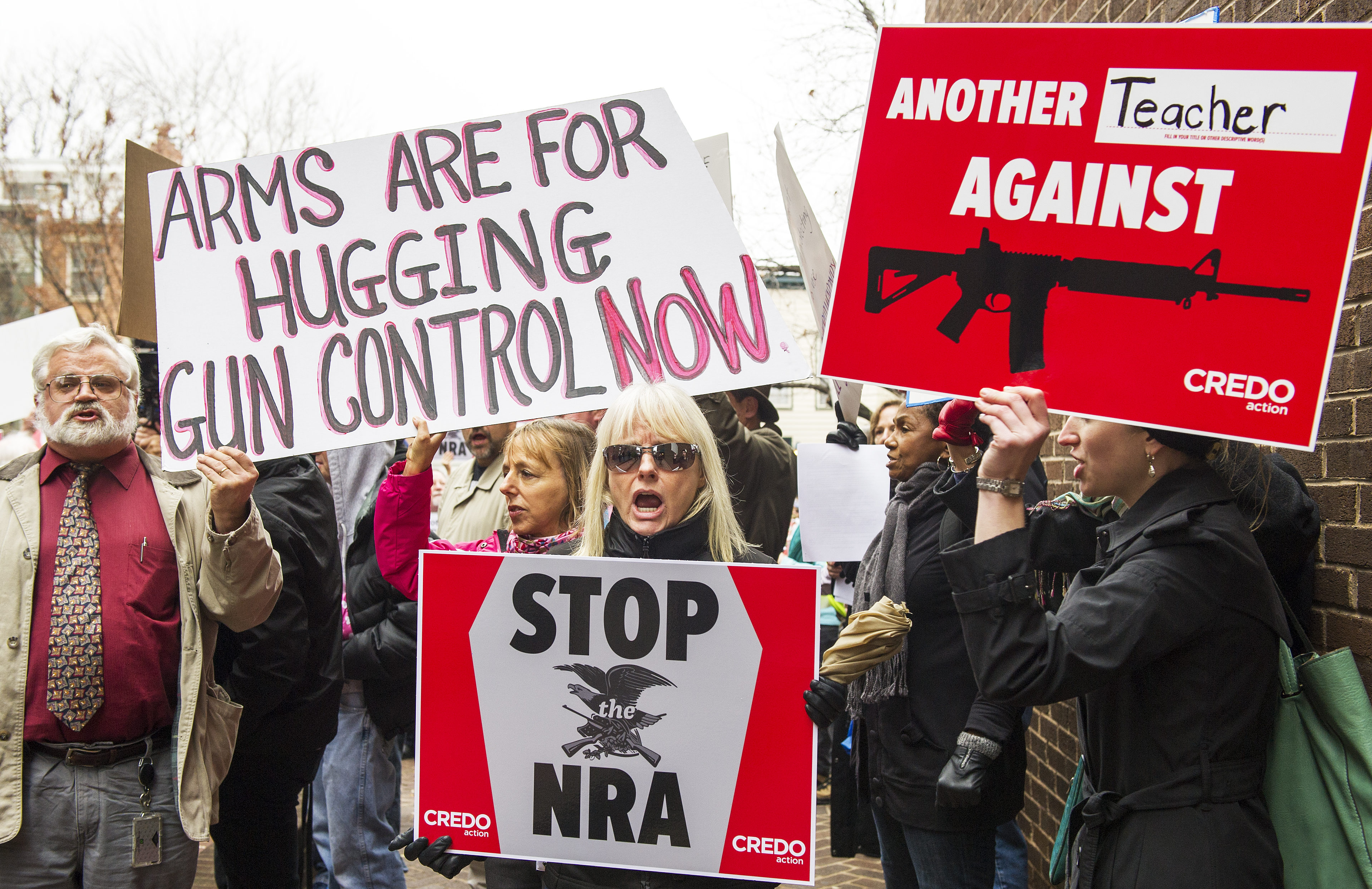 Burn Your NRA Card | Sojourners