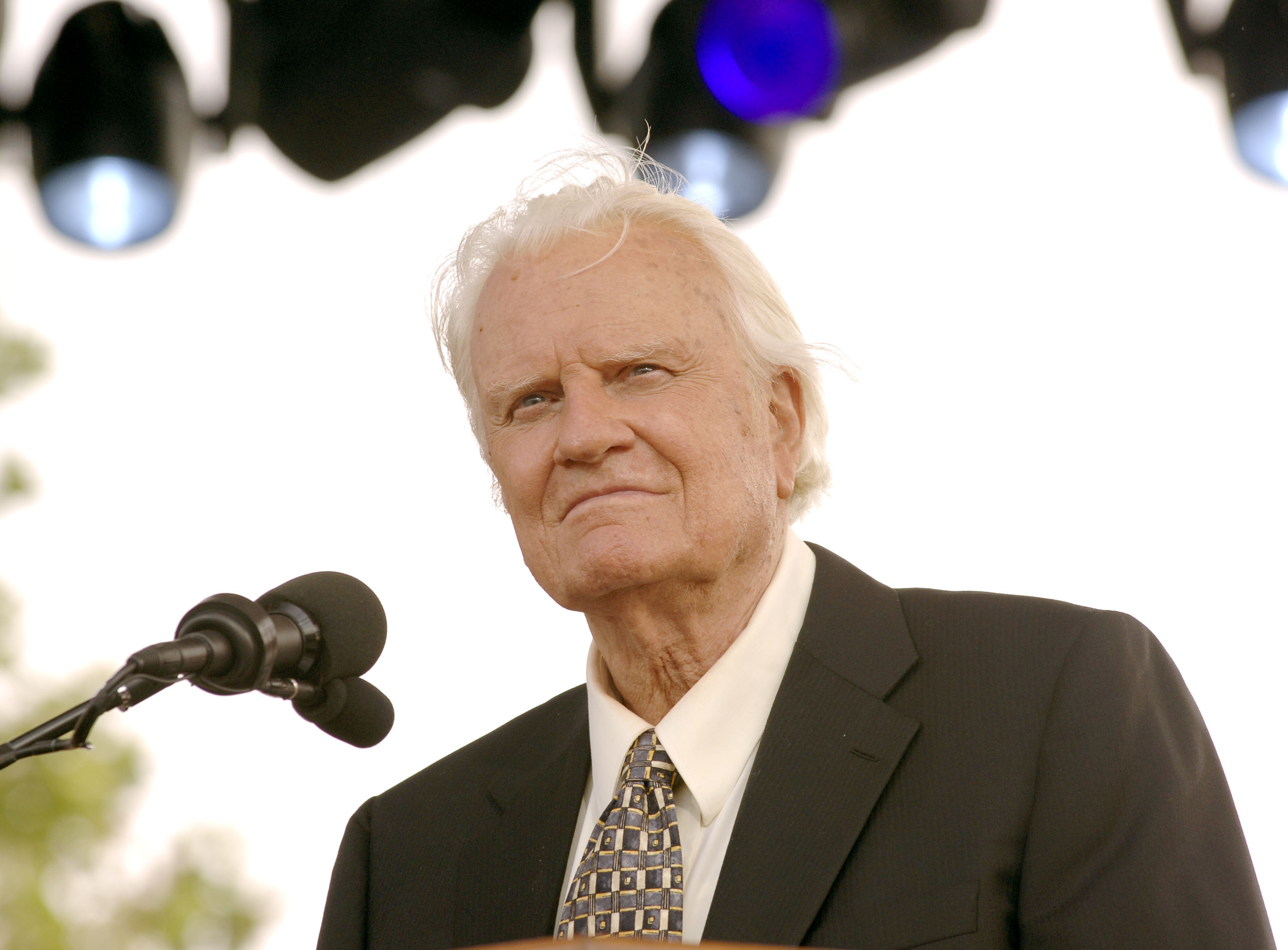 Billy Graham: Punish