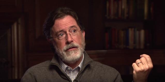 WATCH: Stephen Colbert, Lifelong Catholic, on Hearing a Female Priest Celebrate the Eucharist