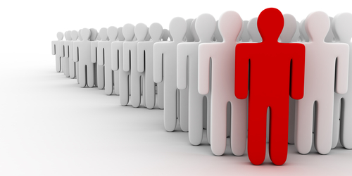 One Person Standing Out In A Crowd What Do We Stand For? ...