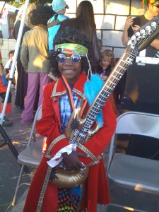 Vasco as Jimi Hendrix, Halloween 2009