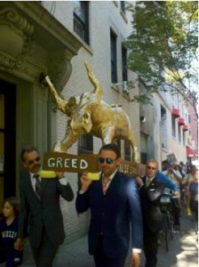 golden calf greed