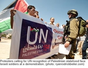 Demonstration for Palestine Statehood