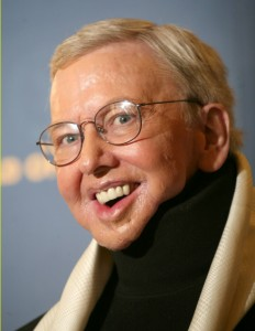Roger Ebert (Photo courtesy of Mr. Ebert)