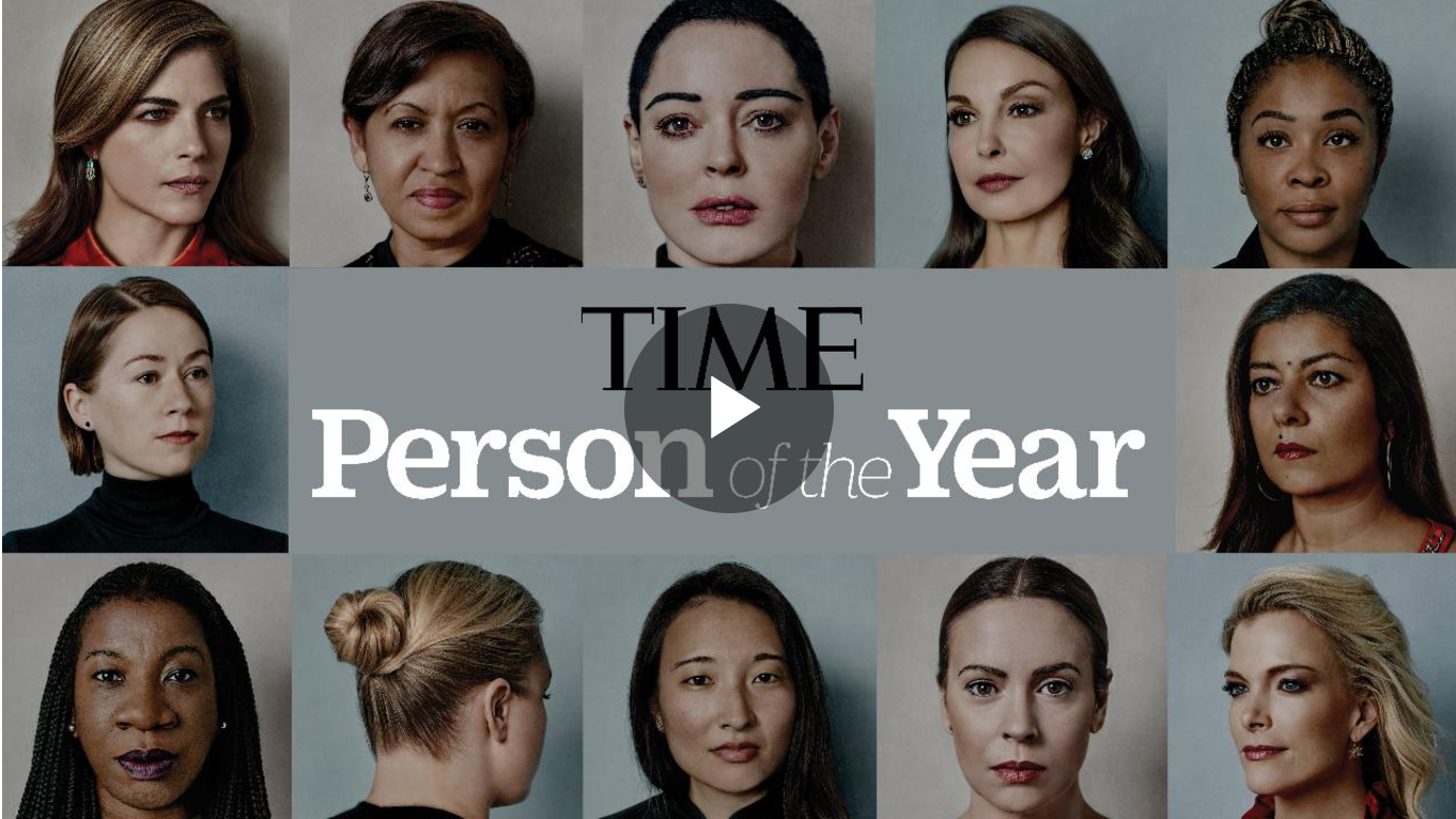TIME Person of the Year 2017 The Silence Breakers  Timecom