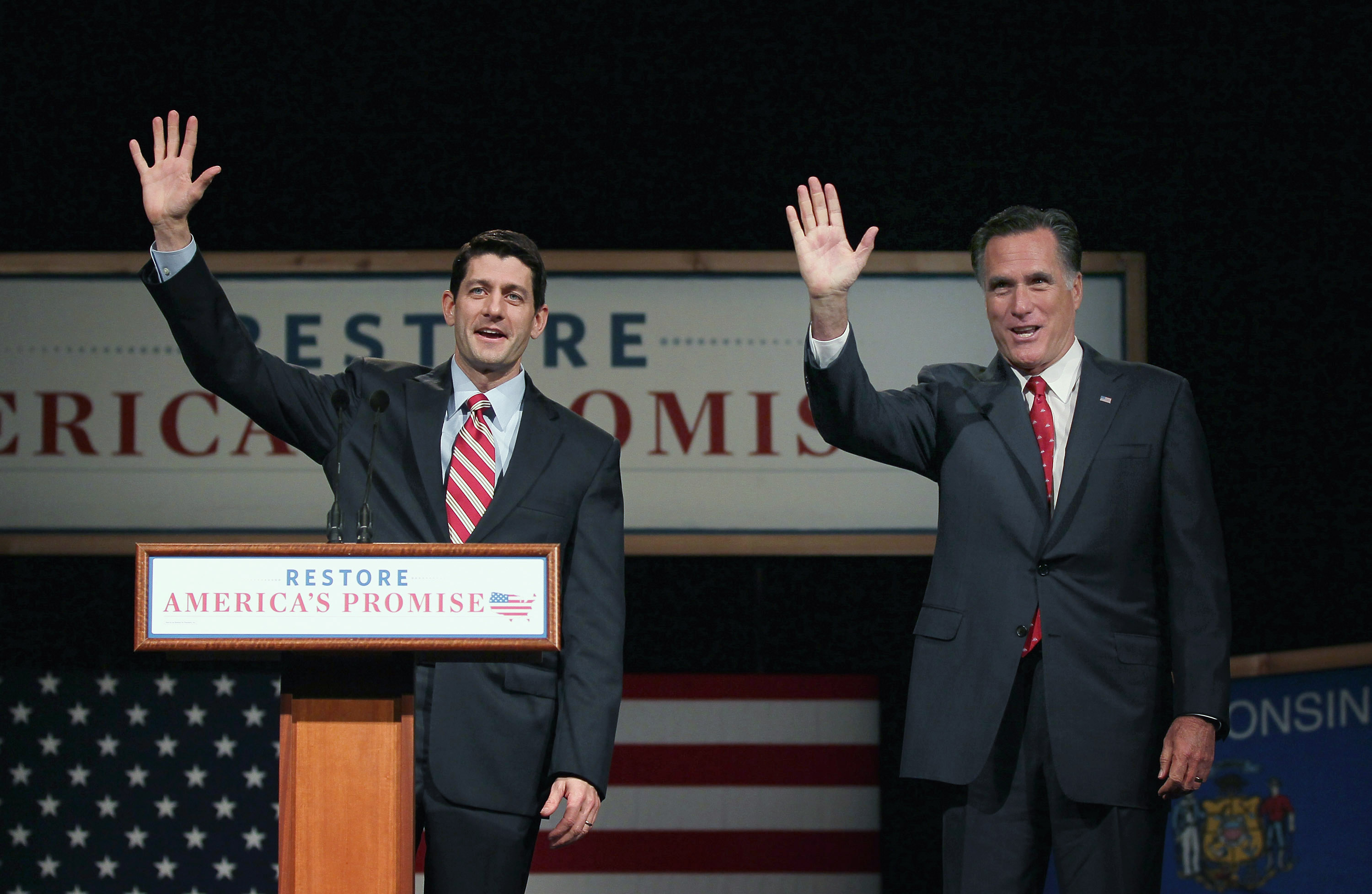 Into the hands of Paul Ryan (Mitt Romney's vice presidential nominee) 142149658