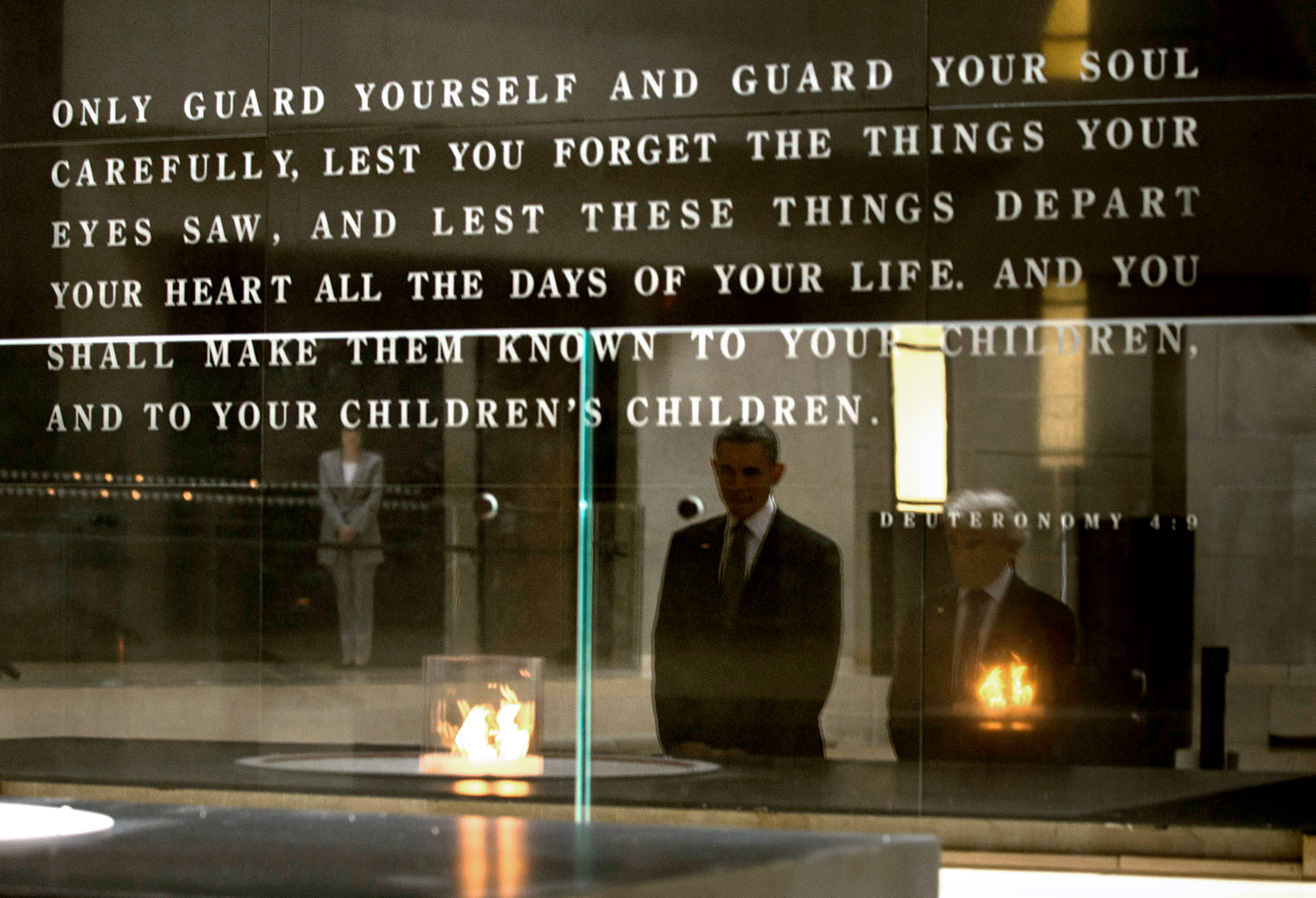 Foyer Museum Quotes : Transcript obama s remarks at the u holocaust memorial