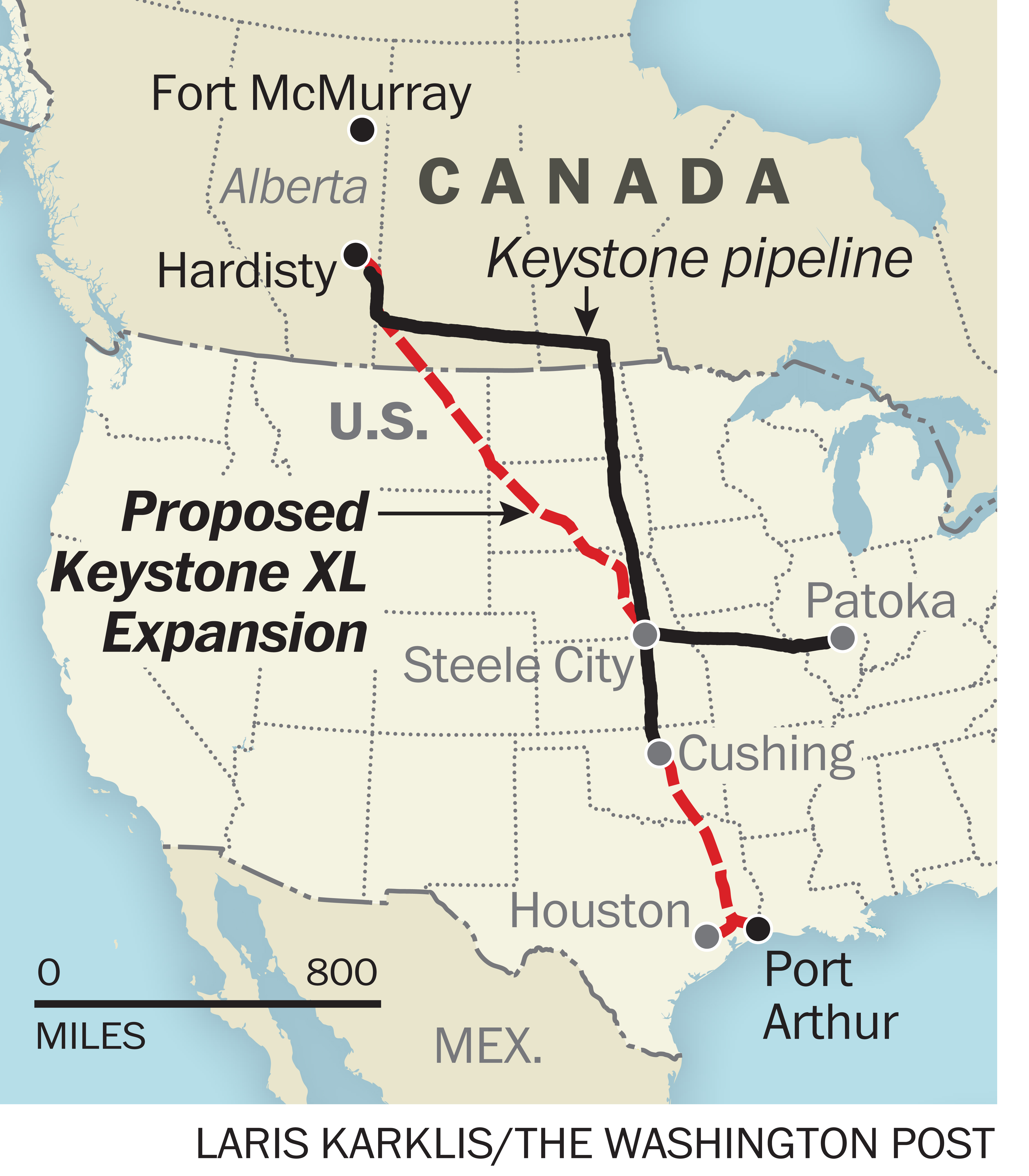 keystone xl Four things to know about the keystone xl pipeline as a decision by the obama administration looms.