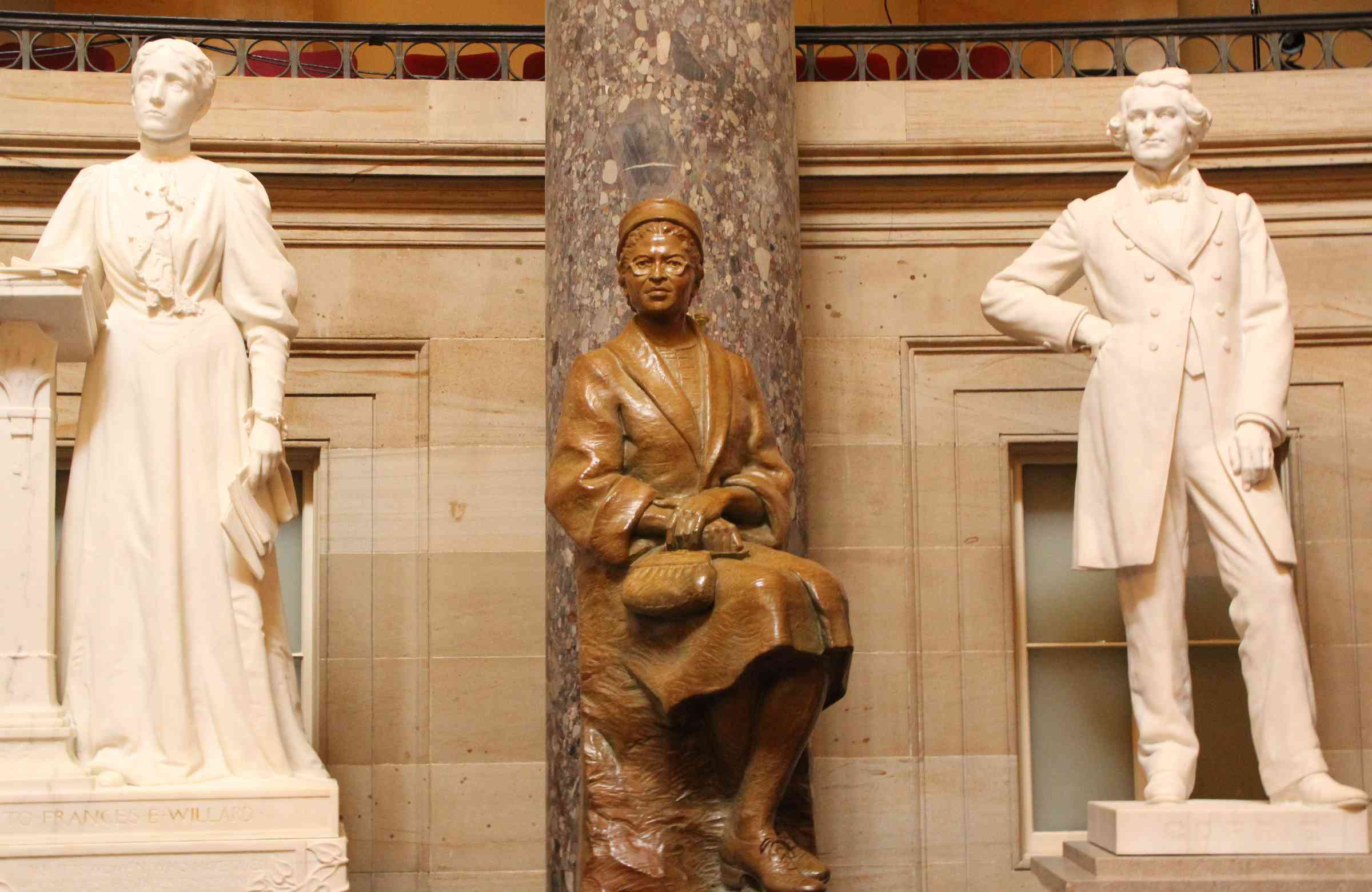 Rosa Parks Statue Unveiled at Capitol, Celebrated by AME Church ...