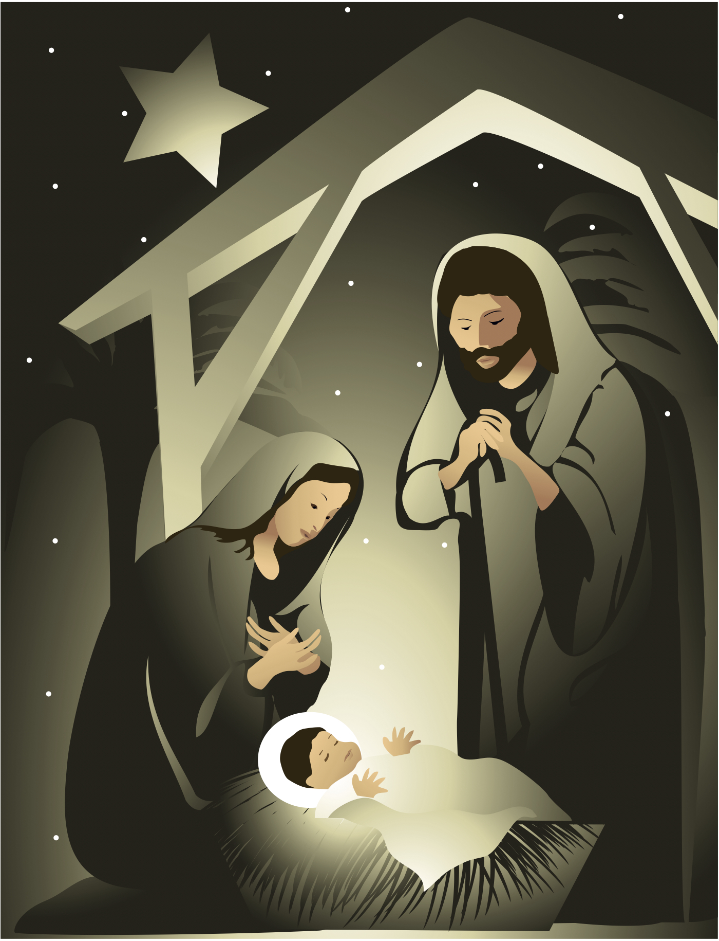 1400 x 1830 · 1395 kB · jpeg, Catholic Religious Christmas Cards