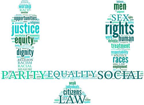 Race Equality Symbol Equality symbol tag cloud,