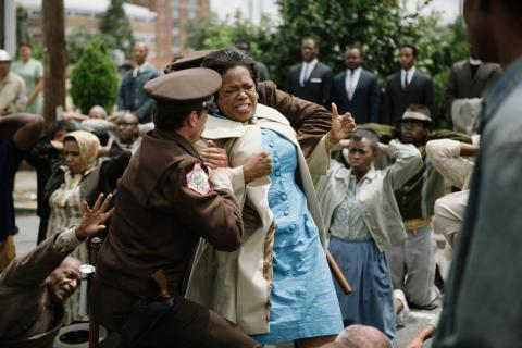 Oprah Winfrey plays Annie Lee Cooper in 'Selma.' Image via selmamovie.com
