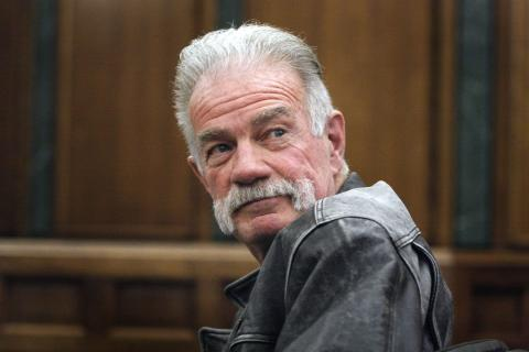Terry Jones in a Michigan courtroom, 2011. Photo by Bill Pugliano/Getty Images.