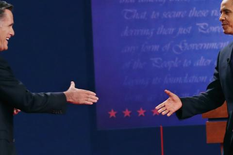 First 2012 Presidential Debate, Photo by Chip Somodevilla/Getty Images