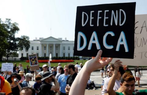White House says judge's blocking end of DACA