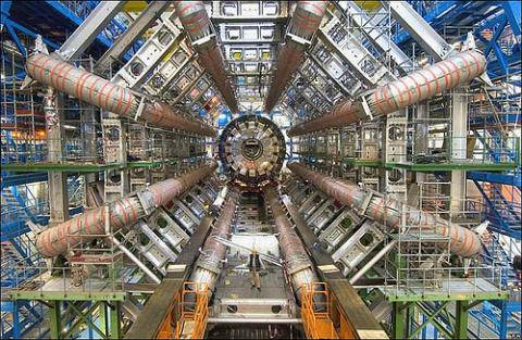 The Large Hadron Collider/ATLAS at CERN. Photo via Wylio (http://bit.ly/MpMJwS)