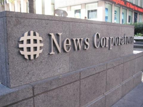 News Corporation in New York City. Photo by Sandi Villarreal / Sojourners