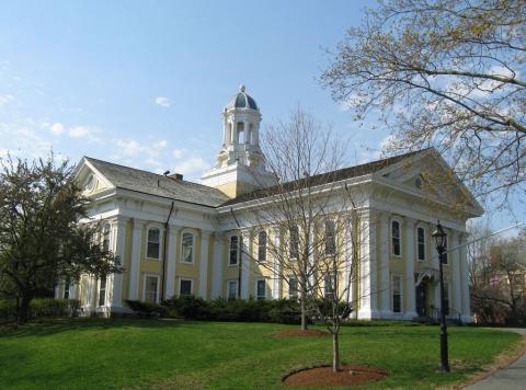Mary Lyon Hall at Wheaton College. Photo via Flickr