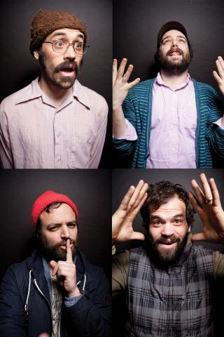 mewithoutYou, courtesy PressHereNow.com