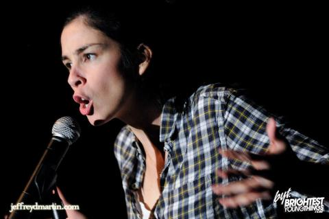 Sarah Silverman, Photo by Jeff / Flickr.com