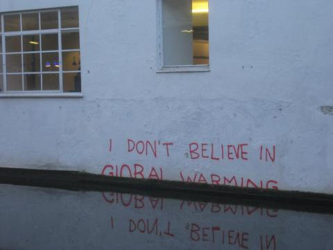 """Banksy is a climate change denier."" by Matt Brown / Flickr.com"