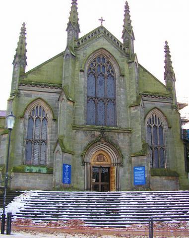 St. Mary's Roman Catholic Cathedral in Edinburgh, Scotland.