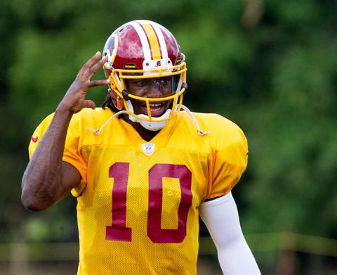 Washington's new quarterback: Robert Griffin III