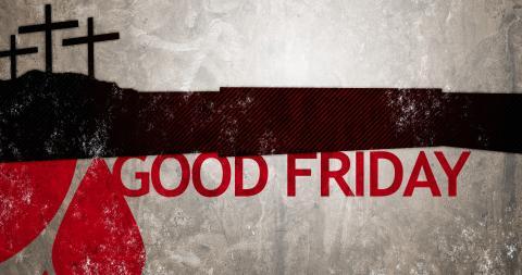 Good Friday illustration, by Joshua Pomeroy / CreationSwap.com