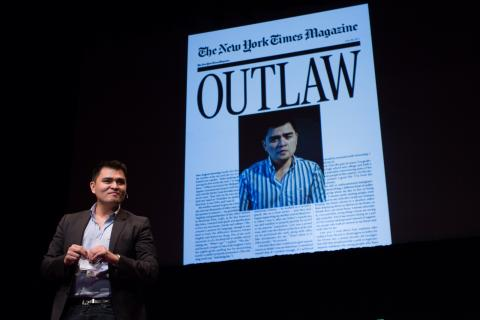 Jose Antonio Vargas in 2012 at a TEDx event. Via TEDxMidAtlantic on Flickr.com