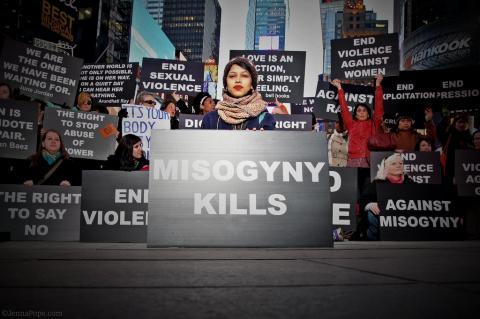 Misogyny kills, by Jenna Pope at Unarmed Civilian / Flickr.com