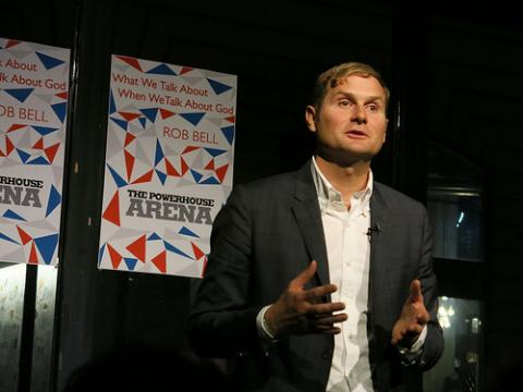 Rob Bell at Powerhouse Arena. By Paul Williams, Via Flickr.