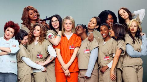 'Orange Is the New Black' cast, photo via Netflix