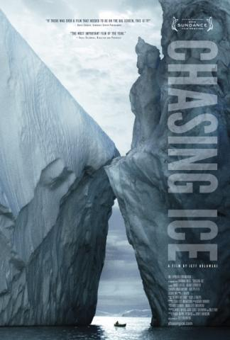 'Chasing Ice' poster art