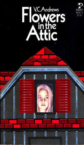 Flowers in the Attic first edition cover, Simon & Schuster