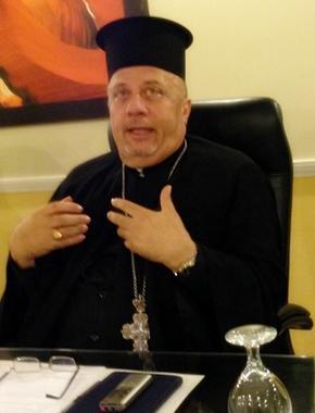 Fr. Nabil Haddad, photo from Cynthia J. Martens