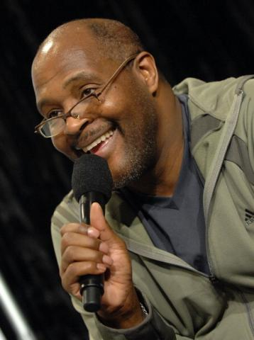 Grammy-winning Gospel singer Marvin Winans. Image via Getty Images.
