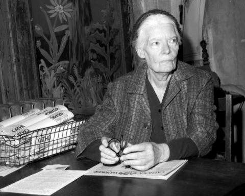 Dorothy Day. Getty Images.