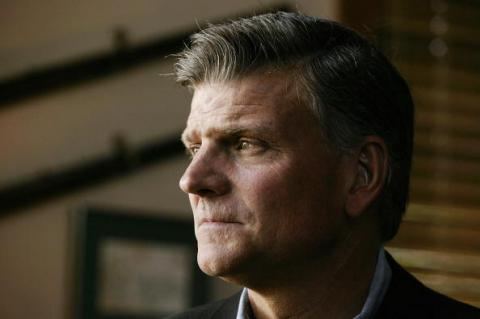 Franklin Graham. Photo by David Hume Kennerly/Getty Images.
