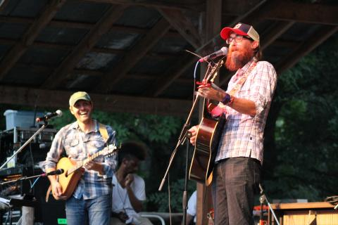 David Crowder. Photo by Cathleen Falsani/Sojourners.