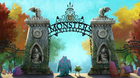 Monsters University, photo via Disney / Pixar