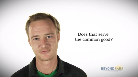 Screenshot from Beyond Bars' Common Good Video