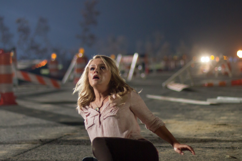 Captain Steele's daughter, Chloe, in 'Left Behind,' out in theaters today. Image