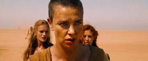 Screenshot from 'Mad Max: Fury Road' trailer.
