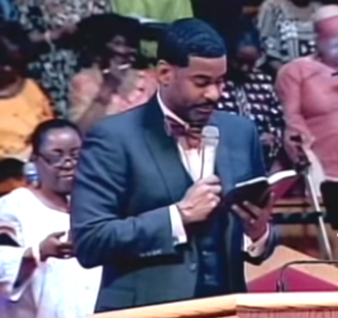 The Rev. Dr. Otis Moss III. Screenshot from YouTube video, via Trinity United Church.