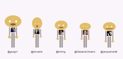 """Sojo web team as """"Tweeple."""""""