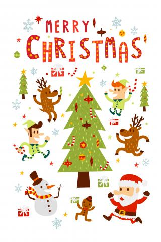 a christmas card monkik shutterstock - How Christmas Started