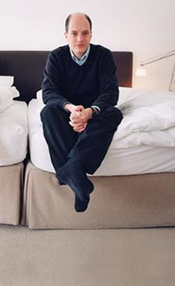 Alain de Botton. Image via www.alaindebotton.com.