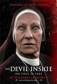 The Devil Inside movie poster.